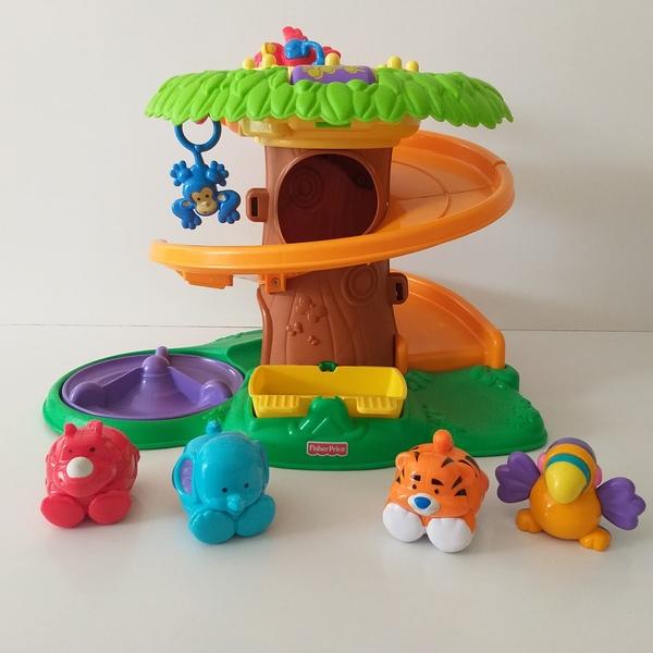 B6: Rolling Around Jungle playground