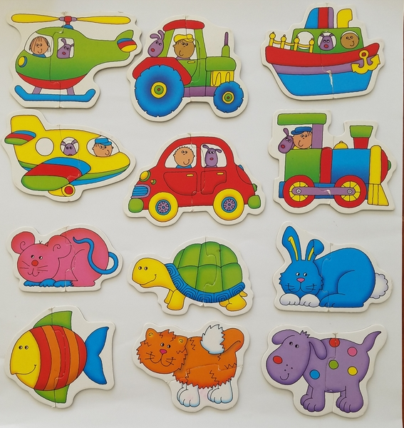 PG56: Galt Baby Puzzles