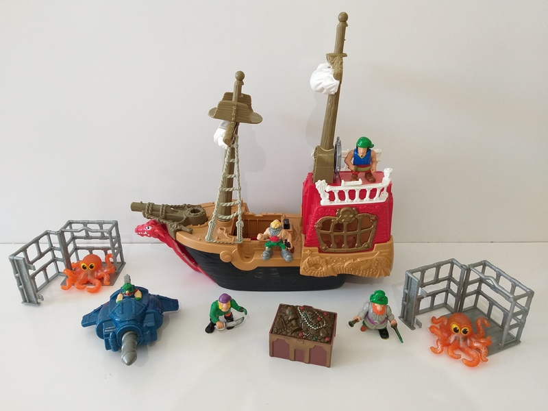 IMG54: Great Adventure Pirate Ship