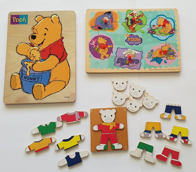 PG118: Pooh and Friends Puzzles