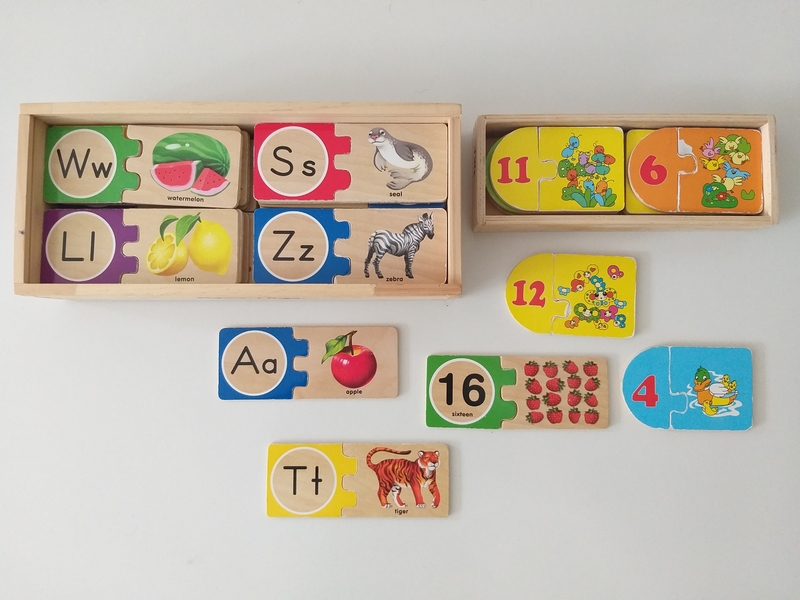 PG340: Alphabet and Numbers Self-Correcting Puzzles