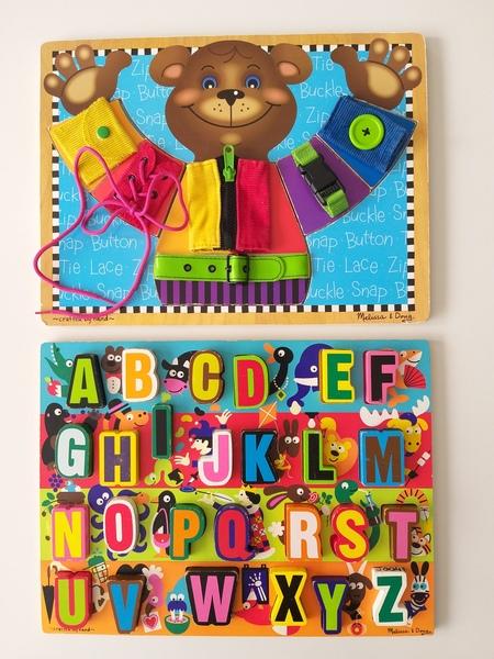 PG84: Alphabet and Teddy Bear Dress Up Puzzles