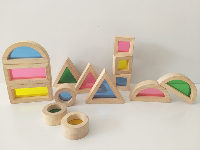 B400: Rainbow Blocks