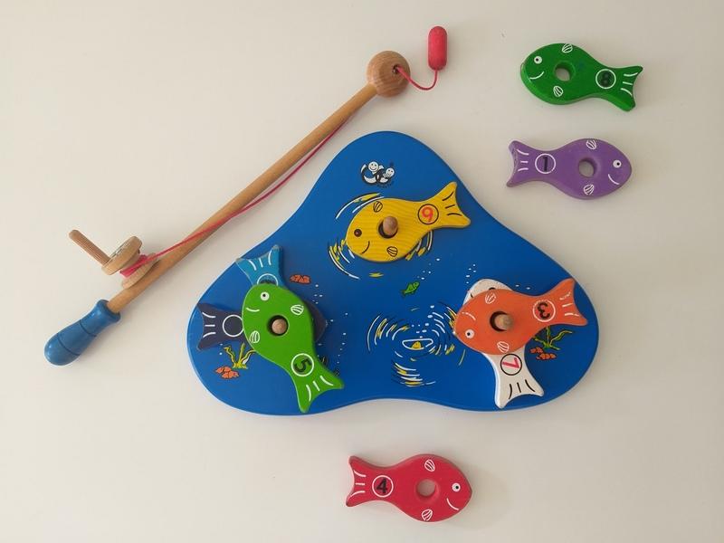 PG1: Magnetic Fishing Game