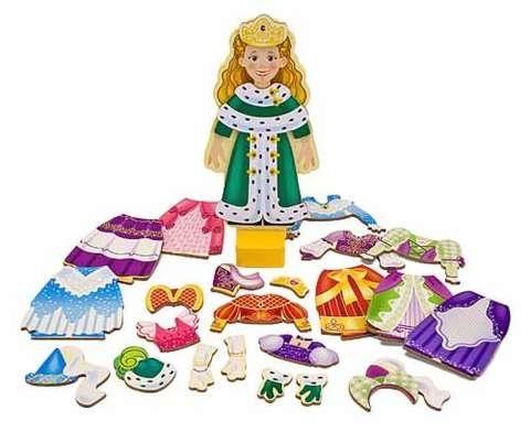 IMG26: Princess Magnetic Dress Up