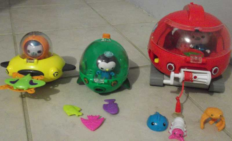 IMG83: Octonauts - Gups D, E and X