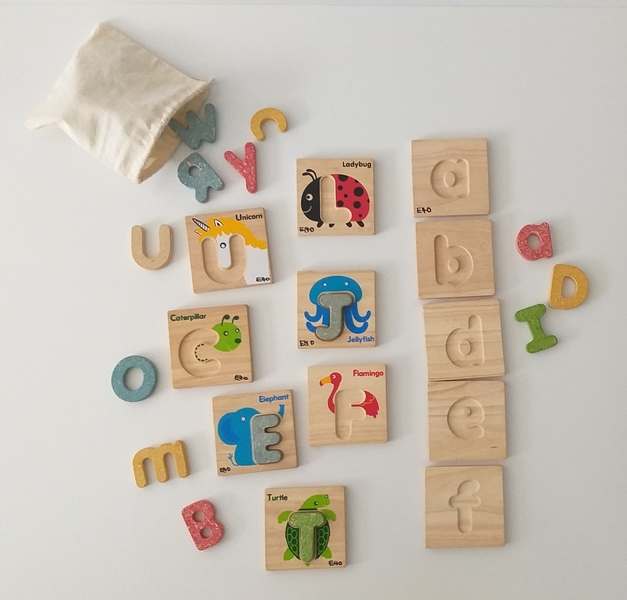 EL40: Language Upper Case and Lower Case Letters