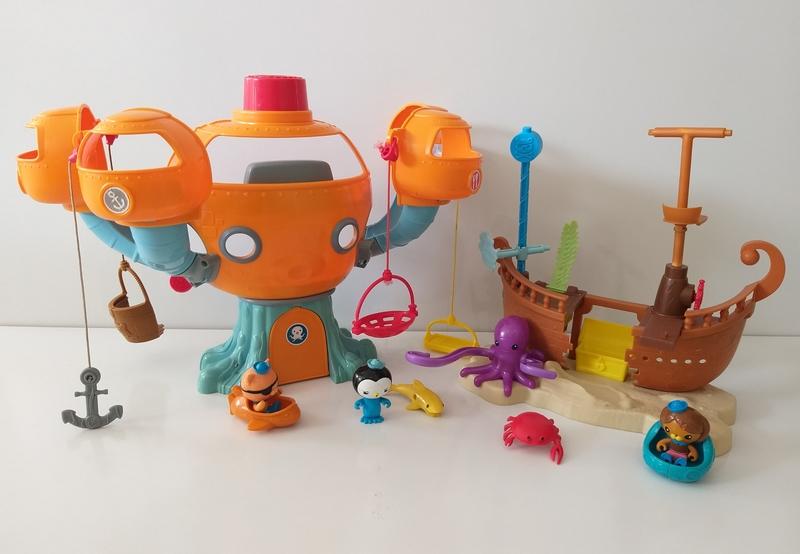 IMG60: Octopod Playset and Kwazii's Shipwreck