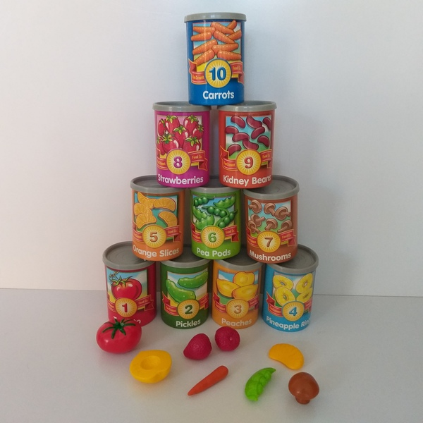 EL44: 1 to 10 Counting Cans