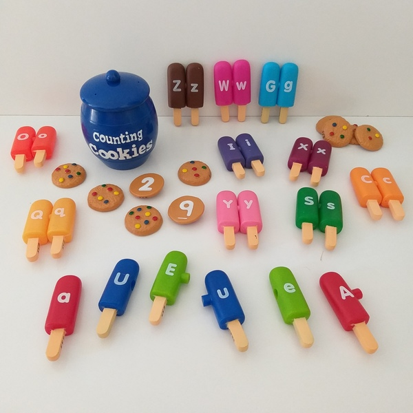 EL5: Counting Cookies and Licking Letters