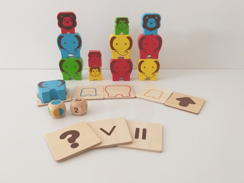 EL49: Animal Pre-Math Play Set