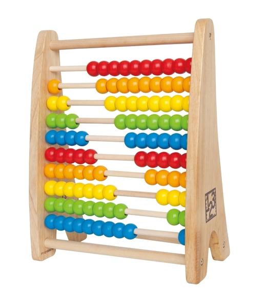 EL45: Rainbow Bead Abacus