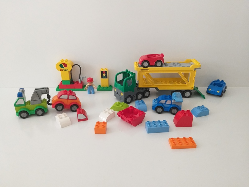 C58: Duplo: Car Transporter and Combine and Create Cars