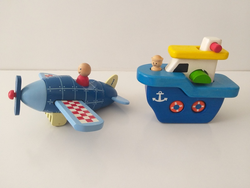 PG171: Magnetic Boat and Plane