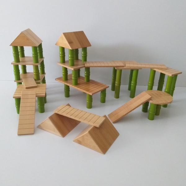 C71: Bamboo Building Blocks