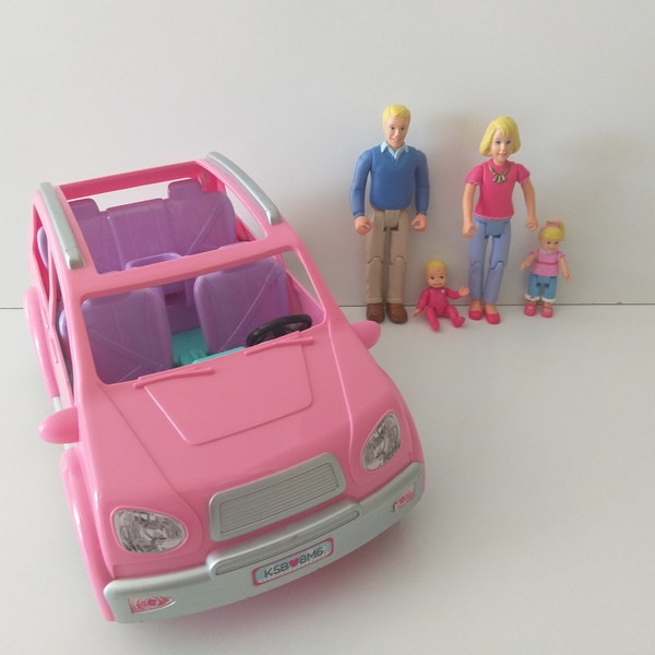 IMG127: Pink Family Car