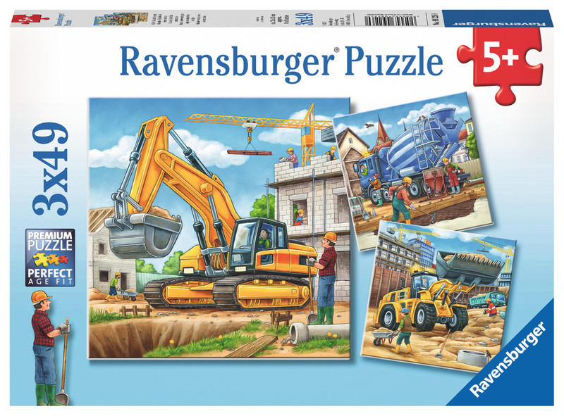 D1155: Large Construction Vehicles Puzzle