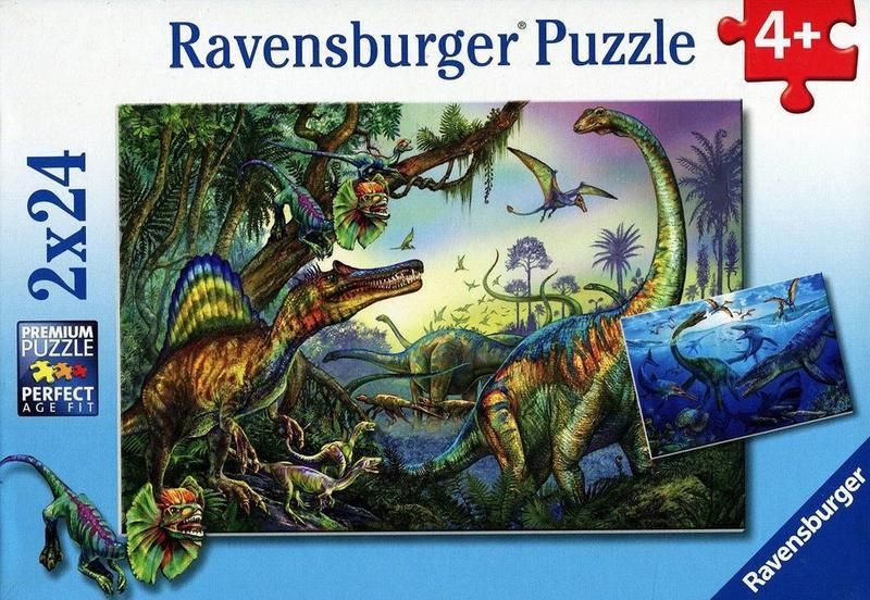 D1158: Prehistoric Giants Puzzle