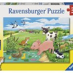 D1168: Baby Farm Animals Puzzle