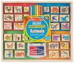 D47: Animal Wooden Stamp Set