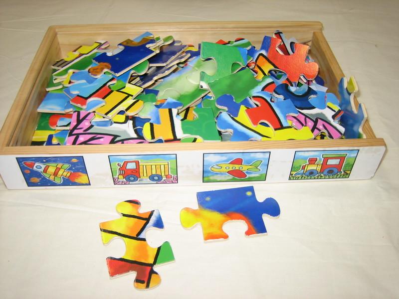 D166: Set of 4 Transport Jigsaws