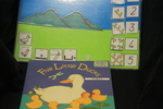 4191: Five Little Ducks Book and Velcro Kit