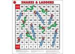 1017: Snakes and Ladders Floor Game