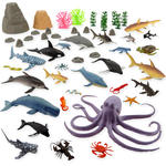 5460: Marine Animals Figurines