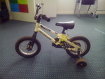 A577:  16inch yellow bike