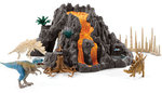 I601: Giant Volcano with Dinosaurs