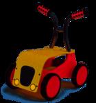 KDT10967: Little Rider (red)