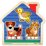 KDT11214: House Pets knob puzzle