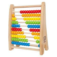 9436: Rainbow Bead Abacus