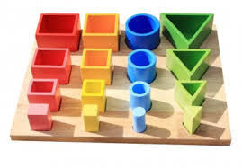 41: Shape Sorting and Nesting Board