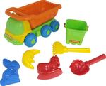 185: Polesie Dump Truck and Sand Toys