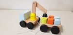 403: Wooden Magnetic Crane Set