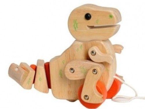 597: Pull Along Dino