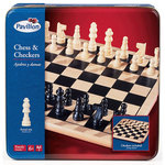 860: Chess and Checkers Set