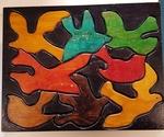 530: Handmade Birds Puzzle