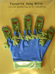 631: Five Speckled Frogs Hand Puppet