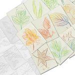 1034: Leaf Rubbing Plates