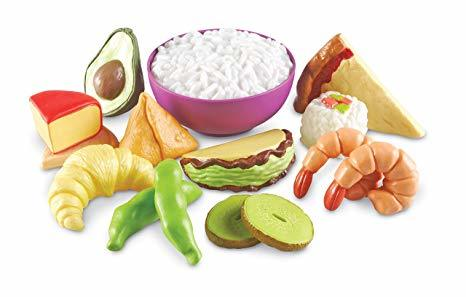 1053: Multicultural Food Set