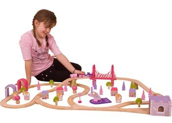 1087: Fairy Town Train Set