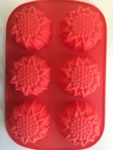 1115: Silicone Molds Flower