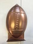 1119: Cake Tin - Rugby Ball