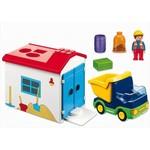 1171: Truck and Garage