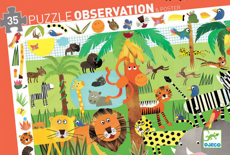 1234:  Jungle Puzzle Observation