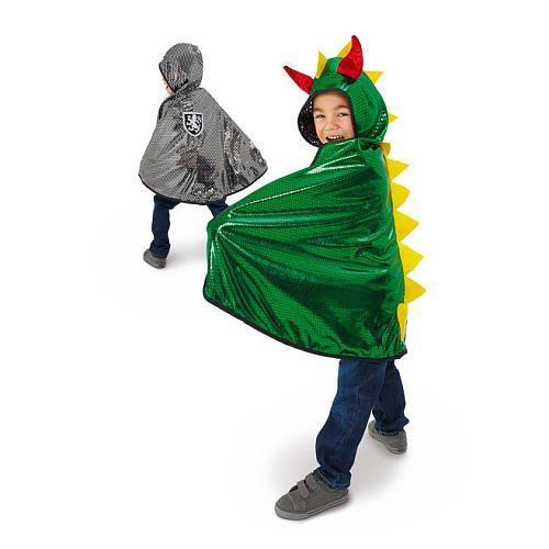 1597: Dragon / Knight Reversible Cape