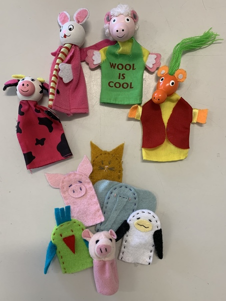 1713: Animal Finger Puppets