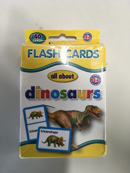 749: Flash Cards All About - Dinosaurs